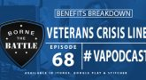 Veterans Crisis Line - Benefits Breakdown