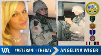 Angelina Wiger - Veteran of the Day