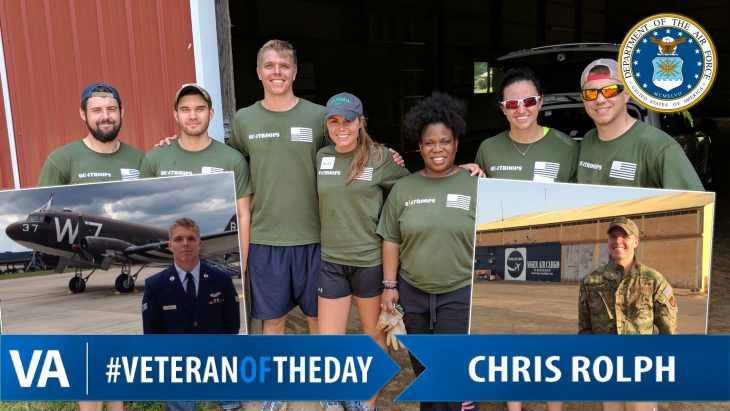 Chris Rolph - Veteran of the Day