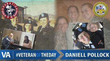 Daniell Pollock - Veteran of the Day