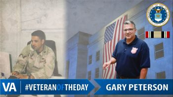 Gary Peterson - Veteran of the Day