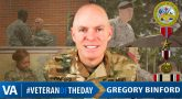 Gregory Binford - Veteran of the Day