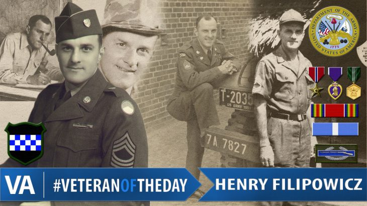 Henry Filipowicz - Veteran of the Day