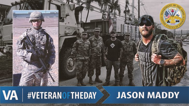 Jason Maddy - Veteran of the Day