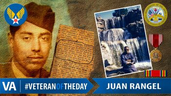 Juan Rangel - Veteran of the Day