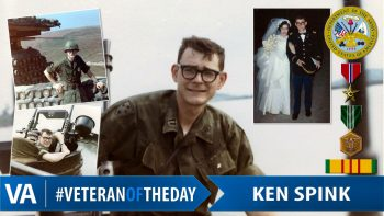 Ken Spink - Veteran of the Day