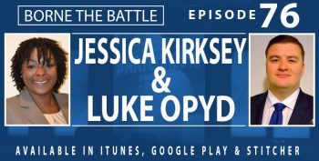 Jessica Kirksey Luke Opyd - Borne the Battle