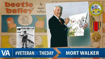 Mort Walker - Veteran of the Day