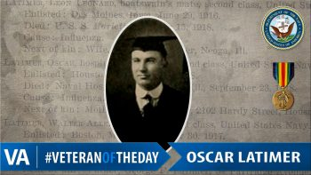 Oscar Latimer - Veteran of the Day