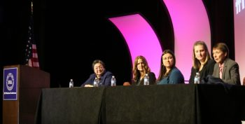 Image: A panel during at SVA's 2017NatCon
