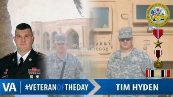Tim Hyden - Veteran of the Day