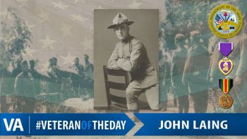 John Laing - Veteran of the Day