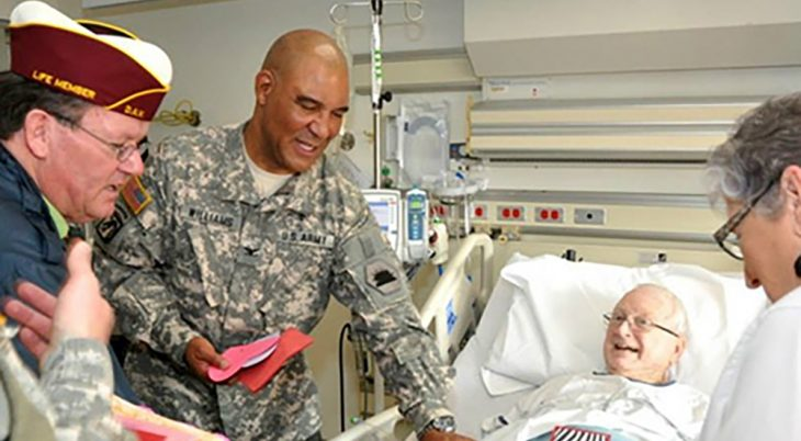 VA medical centers across the country are saluting our Veteran patients with valentines