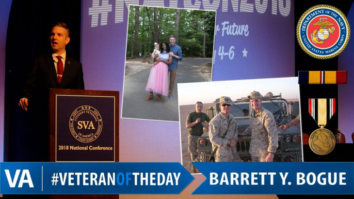 Barrett Y. Bogue - Veteran of the Day