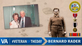 Bernard Rader - Veteran of the Day