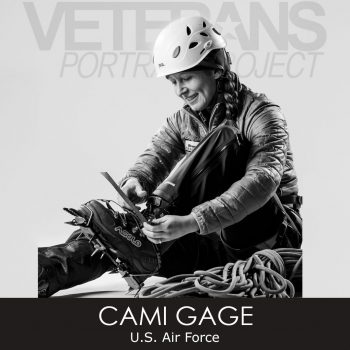 Veterans Portrait Project Cami Gage