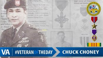 Chuck Choney - Veteran of the Day