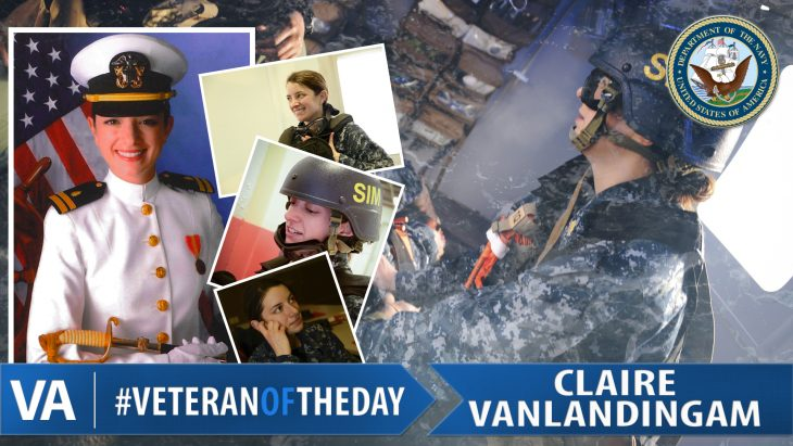Claire VanLandingam - Veteran of the Day