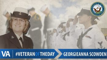 Georgieanna Scowden - Veteran of the Day