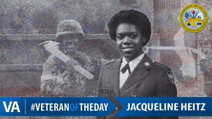 Jacqueline Heitz - Veteran of the Day
