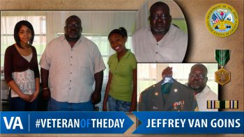 Jeffrey Goins - Veteran of the Day
