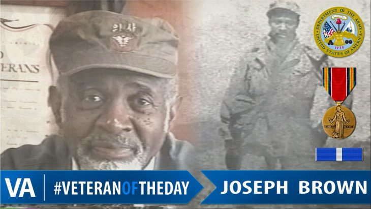 Joseph Brown - Veteran of the Day