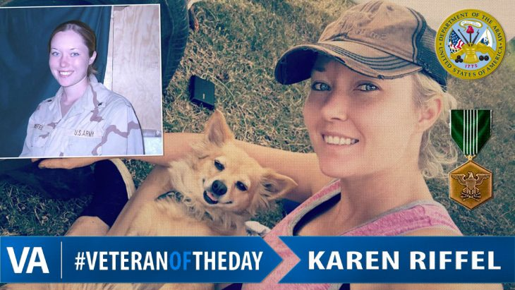 Karen Riffel - Veteran of the Day