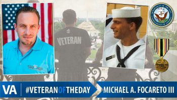 Michael A. Focareto III - Veteran of the Day