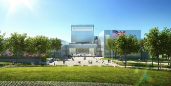 IMAGE: Artist rendering of the new museum.