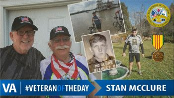 Stan McClure - Veteran of the Day