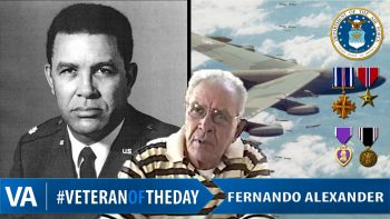 Fernando Alexander - Veteran of the Day