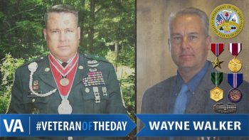Wayne Walker - Veteran of the Day