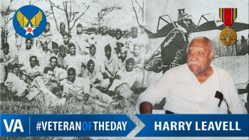 Harry Leavell - Veteran of the Day