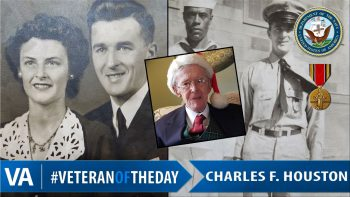Charles F. Houston - Veteran of the Day