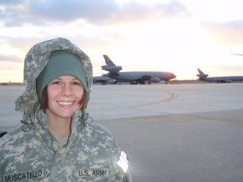 Crystal Muscatello Army National Guard 2006-2015.