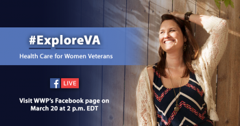 IMAGE: Explore VA graphic for women's health