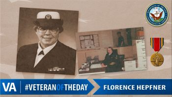 Florence Hepfner - Veteran of the Day
