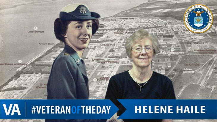 Helene Haile - Veteran of the Day