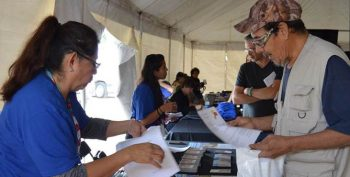 IMAGE: Indian outreach event