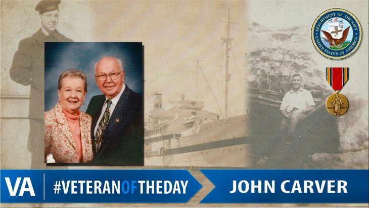 John Carver - Veteran of the Day