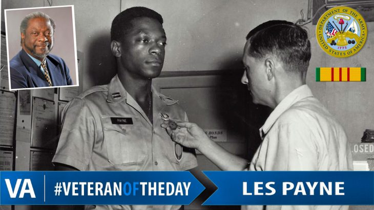 Les Payne - Veteran of the Day