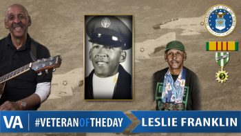 Leslie Franklin - Veteran of the Day