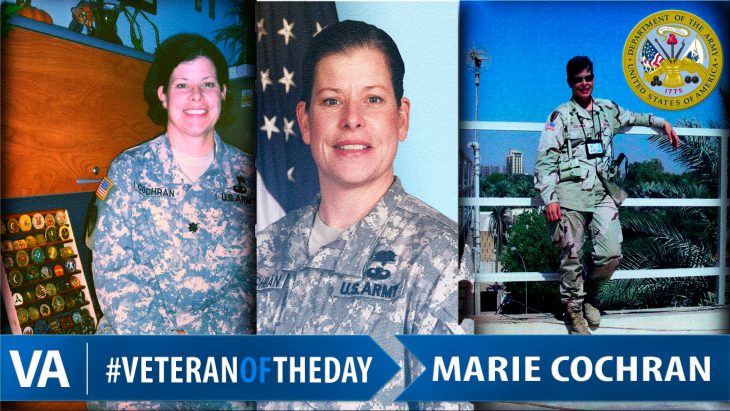 Marie Cochran - Veteran of the Day