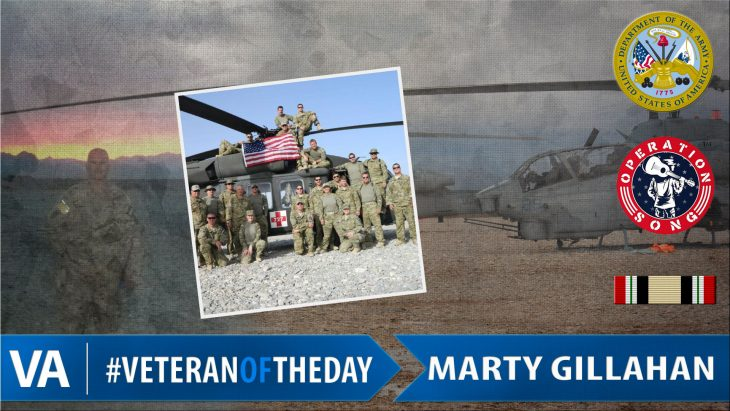 Marty Gillahan - Veteran of the Day