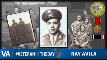 Ray Avila - Veteran of the Day