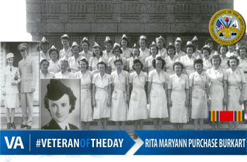Rita Burkart - Veteran of the Day