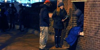 Image of Point i Tie count of homeless people taken on a single night across the nation