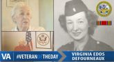 Virginia Edds Defourneaux - Veteran of the Day
