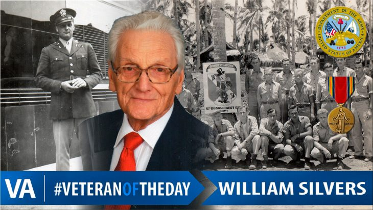 William Silvers - Veteran of the Day