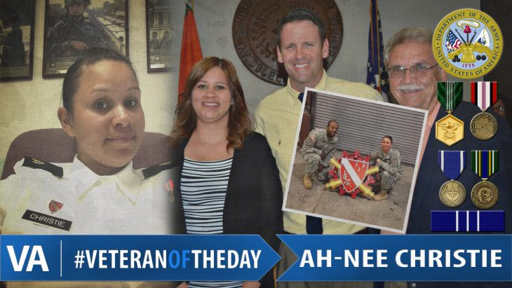 Ah-nee Christie - Veteran of the Day
